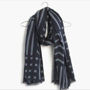 Madewell Linebreak scarf